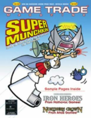 """Alliance Game Trade Mag #65 """"Super Munchkin, Iron Heroes, Northern Crown Mag NM"""