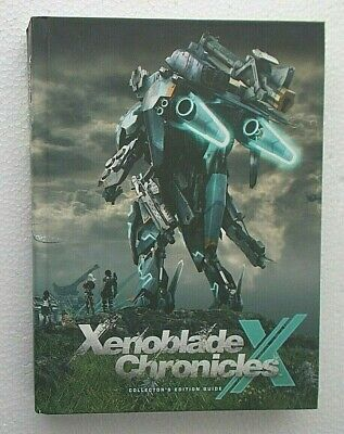 Xenoblade Chronicles X Collector's Edition Guide; VG+unused, 2015 DK/Prima Games