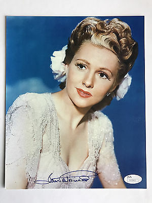 Movies Joan Fontaine Signed 8x10 Photo Todd Mueller Coa