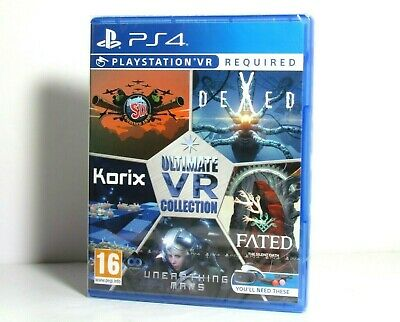 Ps4 Ultimate Vr Collection Unearthing Mars Korix Dexed Fated New Uk Import
