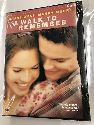 A Walk to Remember (DVD, 2002) Mandy Moore, Shane West -brand NEW SEALED