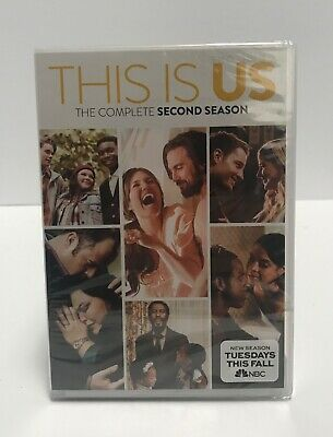 This Is Us Complete Second Season DVD Brand NEW Sealed Season 2