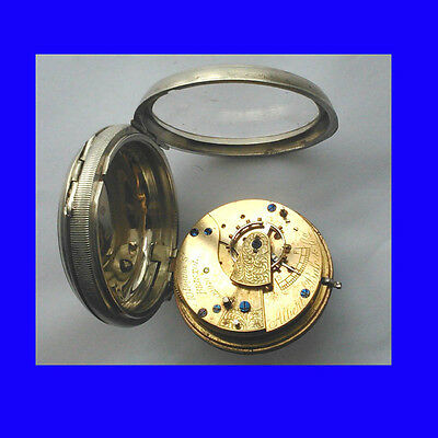 Mint Silver Fusee Liverpool Massey 3 Pocket Watch & Liverpool Jewelling1829