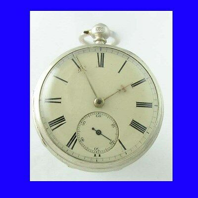 Mint Silver Newcastle Fusee Savage Lever Watch 1843