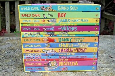 Roald Dahl  Box Set 15 Books Collection. Brand New