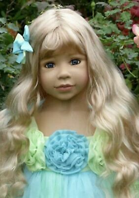 """Masterpiece Doll Wig Candy Strawberry Blonde WIG ONLY Fits Up to 20/"""" Head Sealed"""