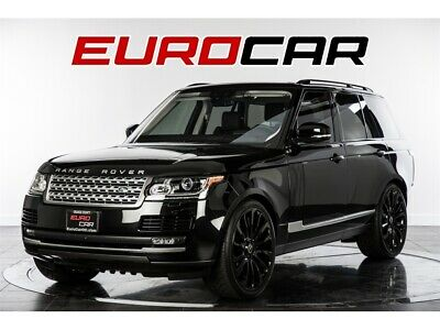"""2017 Range Rover Supercharged 2017 Land Rover Range Rover Supercharged  NEW 22"""" CUSTOM WHEELS!!"""