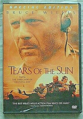 Tears of the Sun (DVD, 2003, Special Edition) Bruce Willis (3-9)