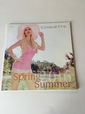 Coquette Lingerie 2016 Spring Summer Fashion Catalog 52 Pages