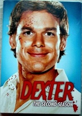Dexter--The Complete Second Season (DVD 2008 4Disc Set) Michael Hall(3-9)