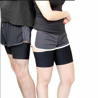 1 Pair Anti Chafing Thigh Bands Elastic Non Slip Leg Comfort Running Sports XP