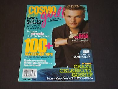 2002 October Cosmo Girl Magazine - Nick Carter - Nice Front Cover - D 2804