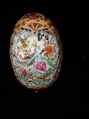 Large Beautiful Enameled  Collector Egg