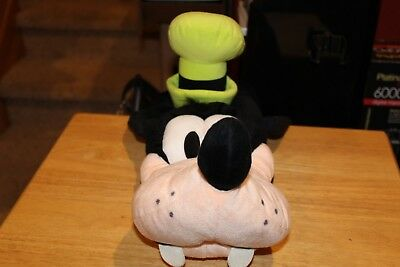4afe8c643a8 Disney Parks World Goofy Floppy Ears Head Hat Plush Youth Adjustable Strap