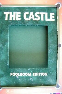 DVD The Castle  Michael Caton Poolroom Edition Region 4