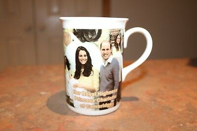 Princecess Charlotte Birth Announcement  Porcelain Coffee Mug - NEW - MUST L@@K