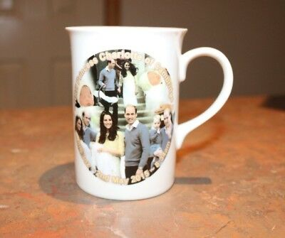 Princecess Charlotte Birth Announcement  Porcelain  Mug #2 - NEW - MUST L@@K!!
