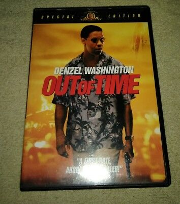 Out of Time DVD Special Edition Wide-screen Denzel Washington Eva Mendes