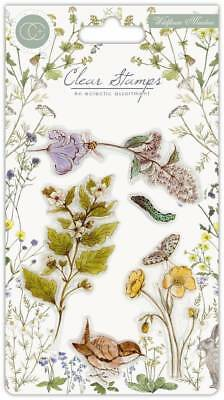 New Craft Consortium Clear Stamps Wildflower Meadow Wild Flowers
