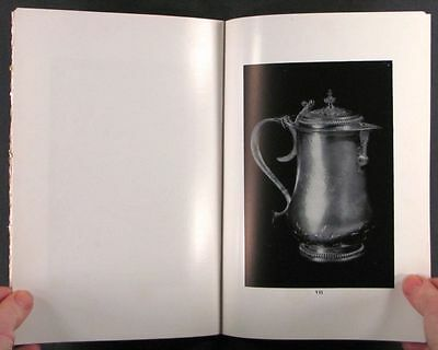 Antique English Sterling Silver -1952 Clark Art Institute Exhibition Catalog