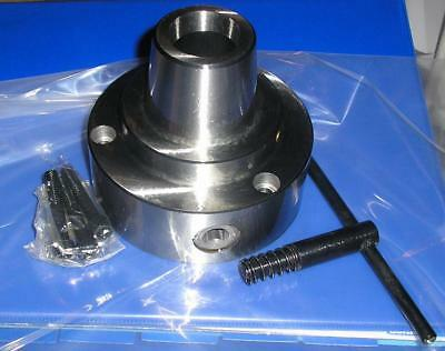 Gloster 5C collet chuck plain recess mount 125mm diameter with D1-4 backplate