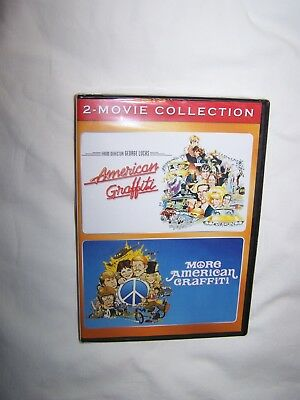 Double Feature: American Graffiti/More American Graffiti (DVD 2018) Ron Howard
