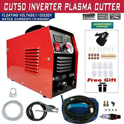 Plasma Cutter CUT50 Digital Inverter 110/220V Dual Voltage Plasma Cutter