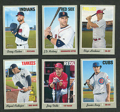 2019 Topps Heritage Baseball Short Print SP #400-500 Complete Your Set You Pick