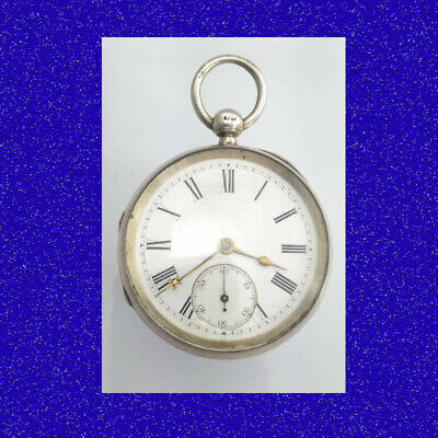 Rare & Stunning Silver Non-Fusee Lever Coventry Pocket Watch 1893