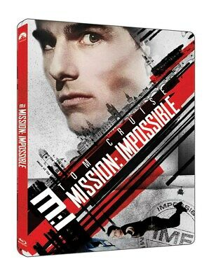 Mission: Impossible Steelbook 4K UHD + Blu-ray UK release sealed