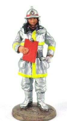 Firefighter Figurine Fireman German 1990 Metal Del Prado 1//32 2.75/""