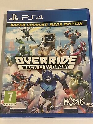Override Mech City Brawl - Ps4 Uk Game Vgc *free Uk Post*