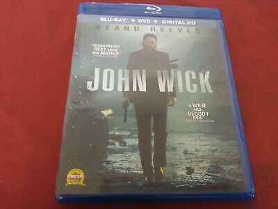 John Wick Keanu Reeves Action Bluray Dvd Movie Film Disc Summit Entertainment R
