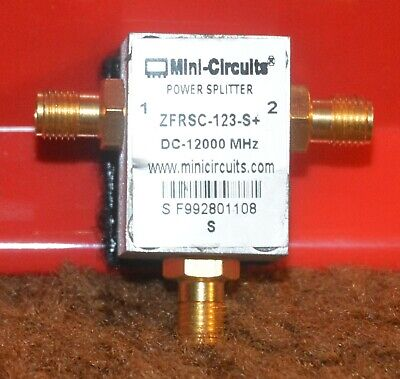 Mini-Circuits ZFRSC-123-S+ Splitter / Combiner 2 Way 50 Ohm DC to 12000 MHz