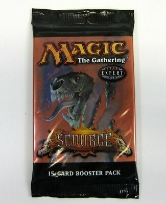 Magic the Gathering : Scourge Booster engl. MtG Boosterpackung Booster Pack
