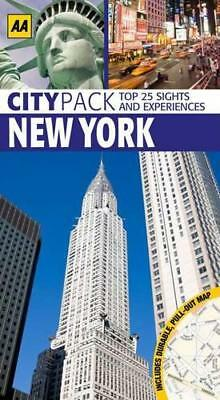 CityPack New York (AA CityPack Guides) by AA Publishing, Paperback Book, Good, F