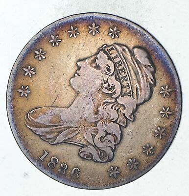 1836 Capped Bust Half Dollar - Circulated *9292