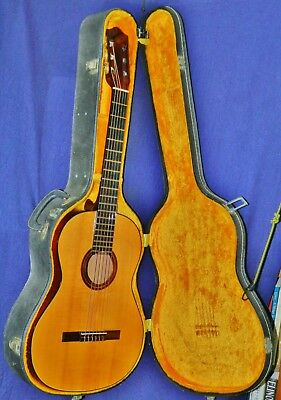 Unusual 1975 GUILD Mark IV Folk/Classical Acoustic, Made in USA, VGCond. OHSC!