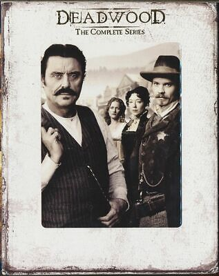 Deadwood - The Complete Series (Blu-ray Disc, 2013, 13 - Disc Set, Canadian)