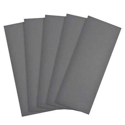 Waterproof Sandpaper, Wet Dry Sand Paper Grit of 2000, 9 x 3.7inch 5pcs