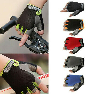 1Pair Sport Cycling Half Finger Gloves Exercise Training Wrist Wrap Glove Unisex
