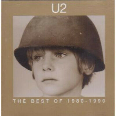 U2 Best Of 1980-1990 CD UK Island 1998 14 Track Pic Disc (Cidu211)