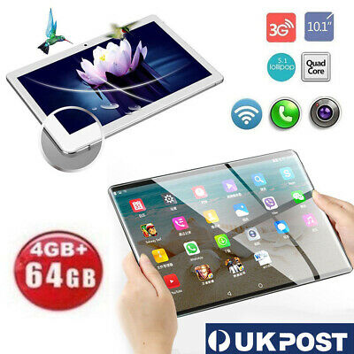 "10.1"" 4G Android 7.0 Tablet PC 4GB+64GB Octa Core GPS WIFI Phone Phablet"