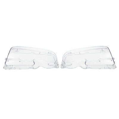 Headlight Clear Lens Cover 2 Pcs Front Headlamp Plastic Shell For BMW E46 Z3M2