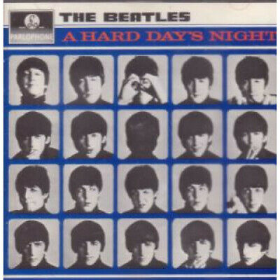 BEATLES A Hard Day's Night CD Germany Parlophone 13 Track West German Pressing