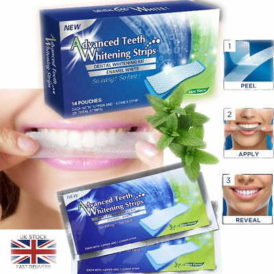 Professional Advanced Teeth Whitening Home Tooth Bleaching 28 Strips White Er