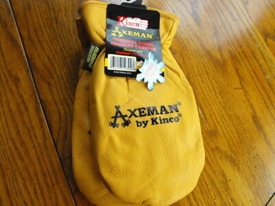 Kinco Axeman 1930 Thermal Lined Cowhide  Size XL