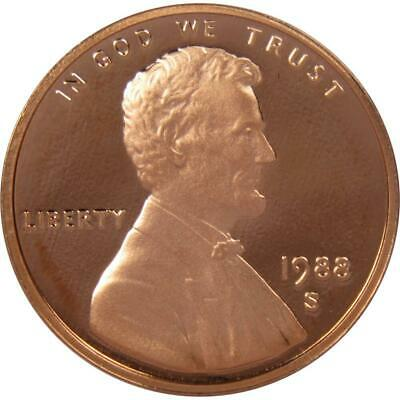 1988 S Lincoln Cent Penny Choice Proof