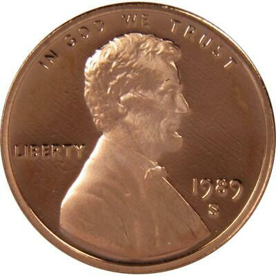 1989 S Lincoln Cent Penny Choice Proof