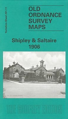 Old Ordnance Survey Map Shipley & Saltaire 1906